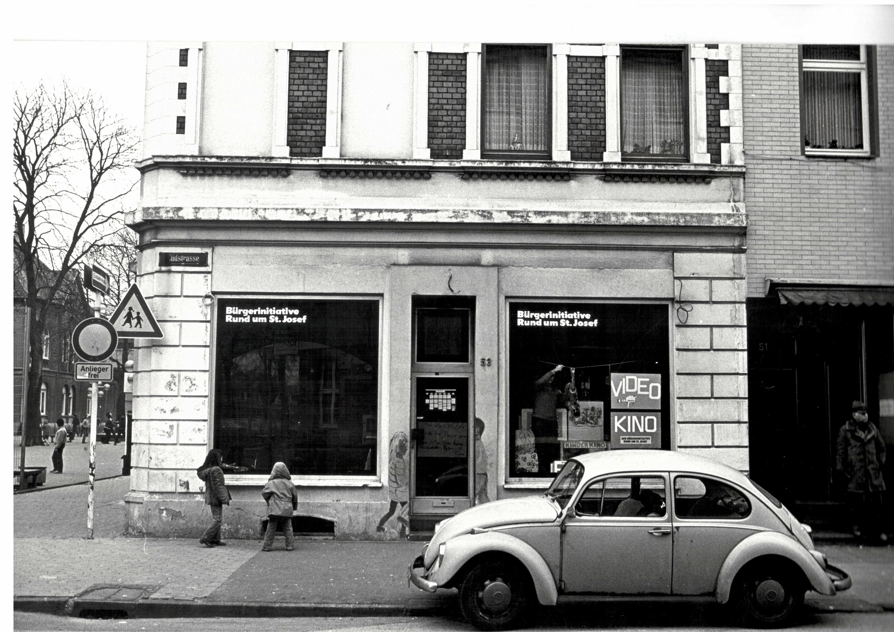 1979 Ladenlokal der BI