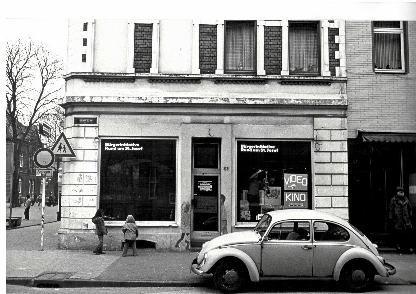 1979. Ladenlokal der BI