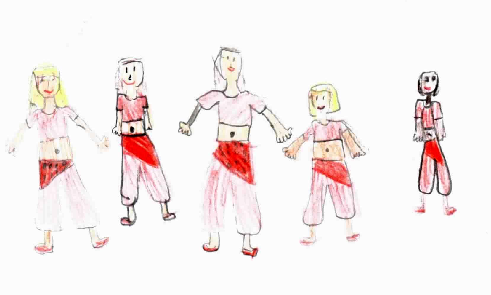 Kinderzeichnung O-Tanz