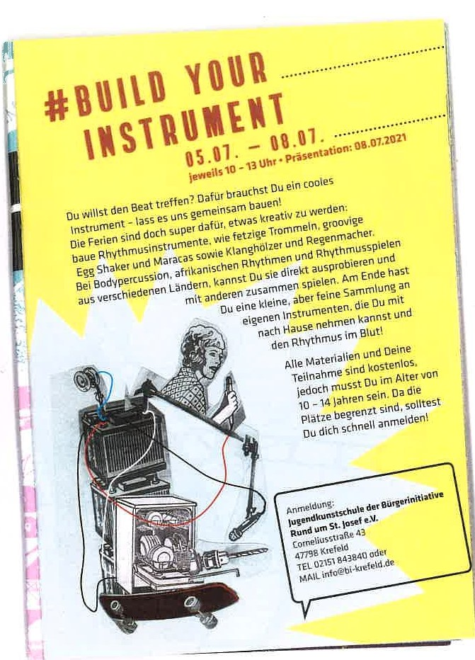 Build your instrument
